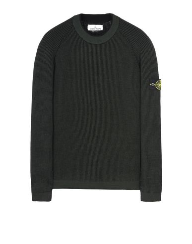 STONE ISLAND Crewneck sweater 580D1 REVERSIBLE KNIT