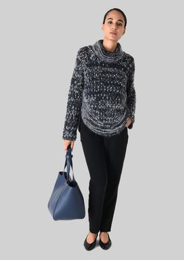 Armani Sweaters Women poncho sweater in wool and mohair