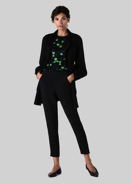 Armani Sweaters Women wool jacquard sweater