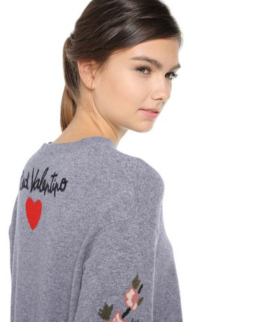 REDValentino NR0KC1133DD DG8 Knit Sweater Woman e