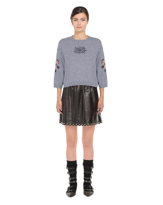 REDValentino NR0KC1133DD DG8 Knit Sweater Woman f