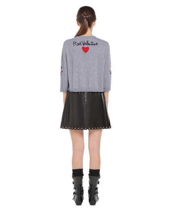 REDValentino NR0KC1133DD DG8 Knit Sweater Woman r