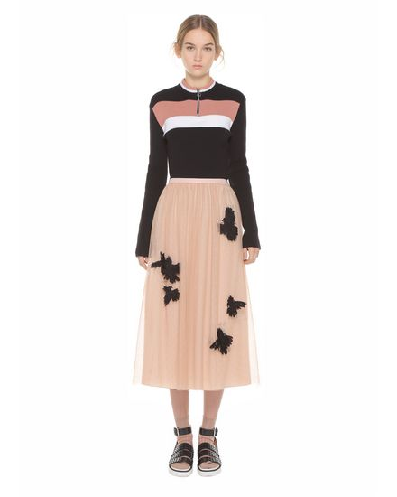 REDValentino Knit Sweater Woman PR3KC1383JH 0NO f