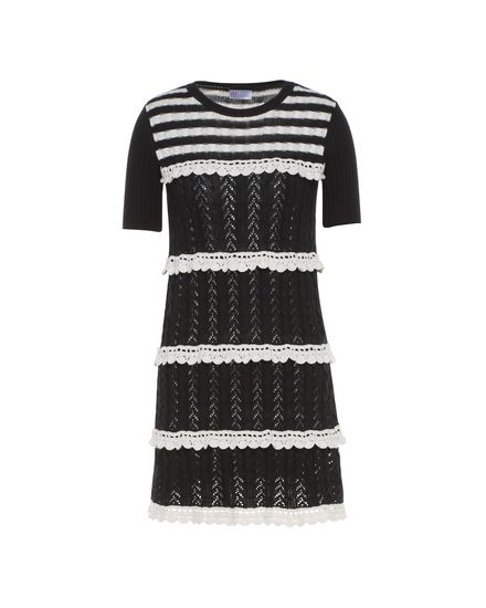 REDValentino Knit Dress Woman PR3KD06C3JL 0NA a