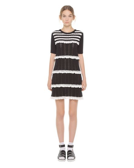 REDValentino Knit Dress Woman PR3KD06C3JL 0NA f