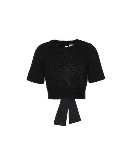 REDValentino Knit top Woman PR0KC1703QU 0NO a