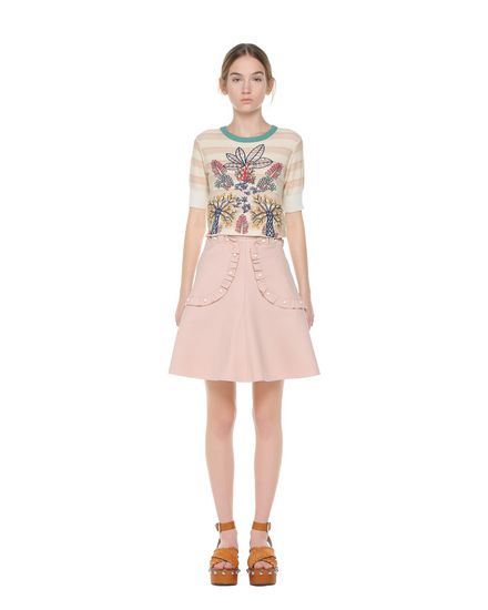 REDValentino Knit top Woman PR0KC1933S2 031 f