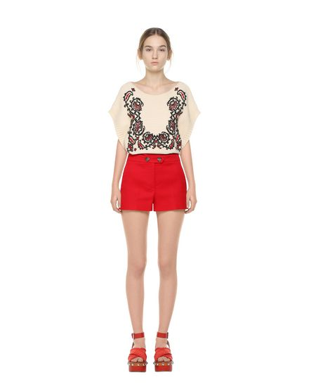 REDValentino Knit top Woman PR0KC1763R4 E01 f