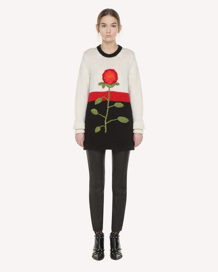 REDValentino Knit Sweater Woman QR3KC1B93VR VH0 f