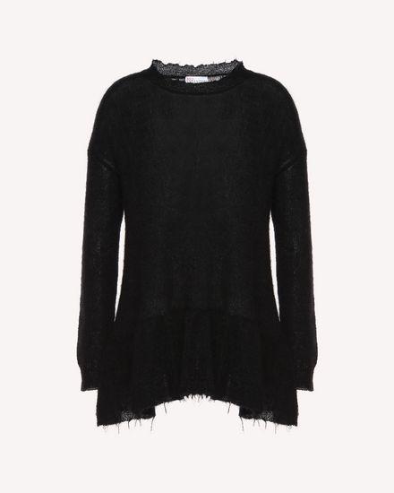 REDValentino Knit Sweater Woman QR3KC1993VJ 0NO a