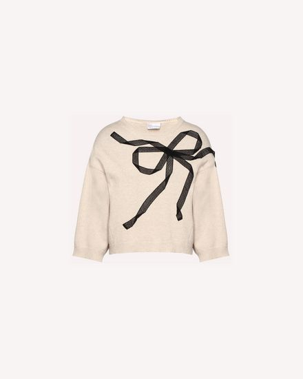 REDValentino Knit Sweater Woman QR3KC1B43WW 954 a