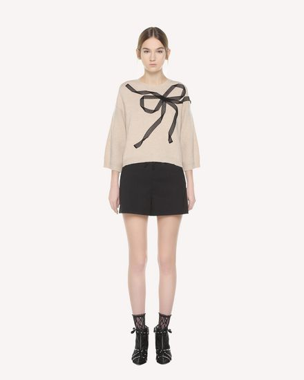 REDValentino Knit Sweater Woman QR3KC1B43WW 954 f