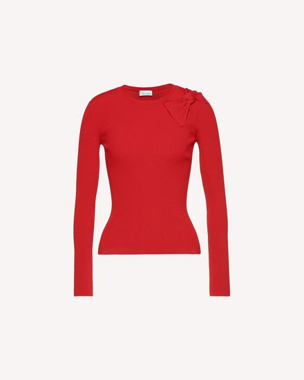 REDValentino Knit Sweater Woman QR3KC1B33Y6C61 a