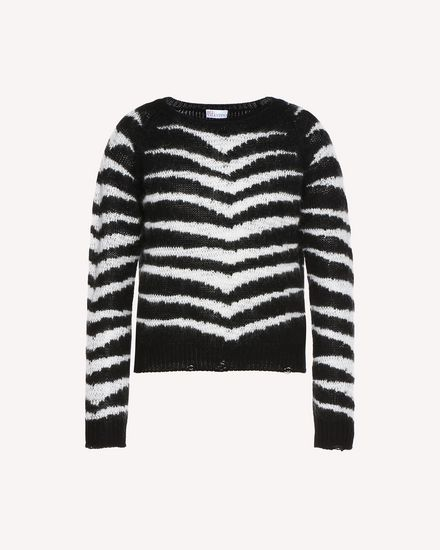 REDValentino Knit Sweater Woman QR3KC08Y3Y2 0NA a