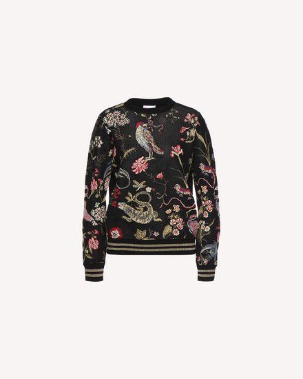 REDValentino Knit Sweater Woman QR3KC1C33W4 0NO a