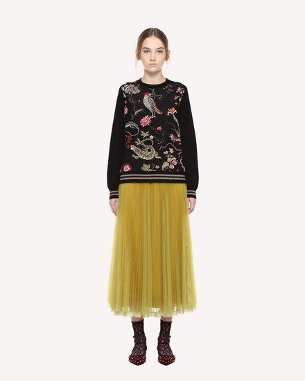 REDValentino Knit Sweater Woman QR3KC1C33W4 0NO f