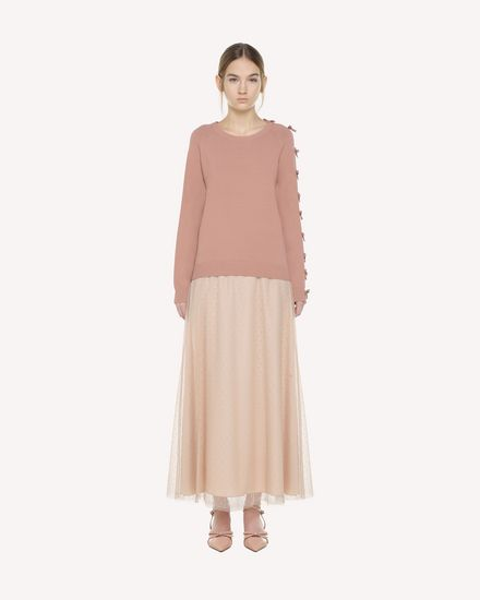 REDValentino Knit Sweater Woman QR3KC1D03VY R13 f