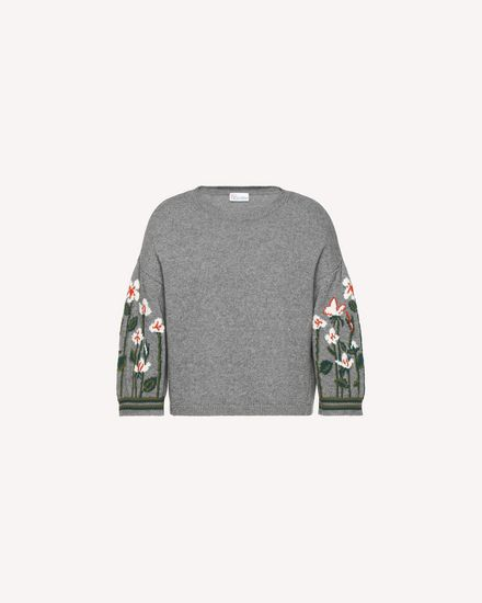 Garden of Metamorphosis jacquard wool sweater