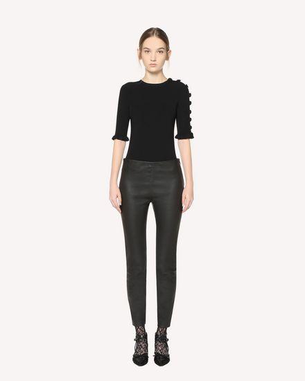 REDValentino Knit Sweater Woman QR3KC1A73WD 0NO f
