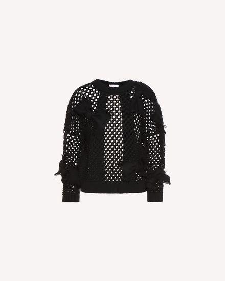 REDValentino Knit Sweater Woman QR3KC1B13WQ 0NO a