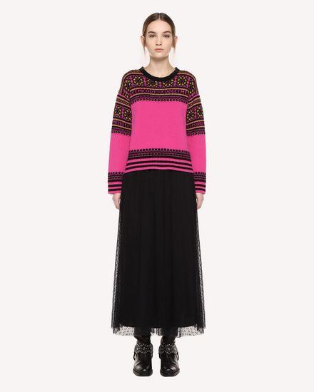 REDValentino 针织衫 女士 QR0KC08Z467 FA9 f