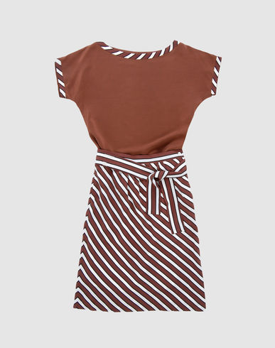 Two-piece silk dress - LANCETTI Women from yoox.com