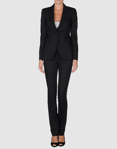 Costume National Suit :  trousers top label karl lagerfeld costume womens suit