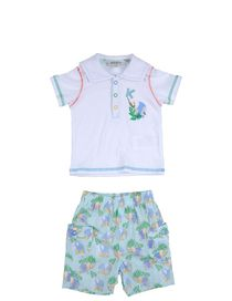 KENZO KIDS - Outfit with shorts