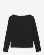 Knitwear Top  SAINTLAURENT