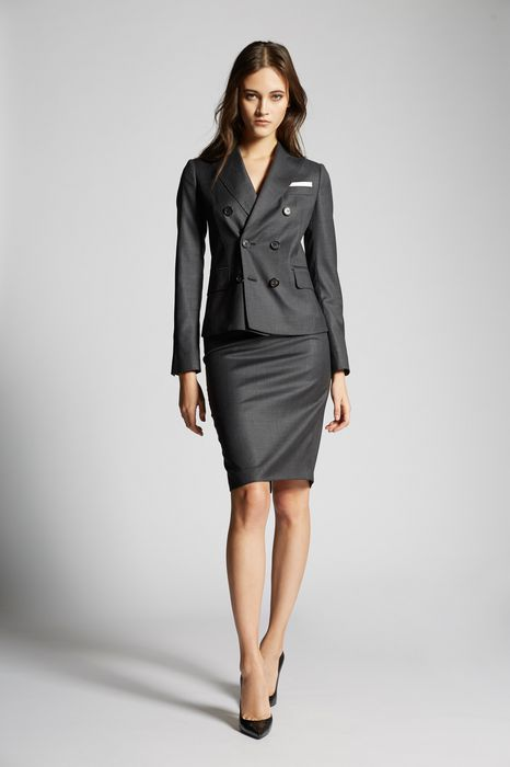 dominatrix suits combined look Woman Dsquared2
