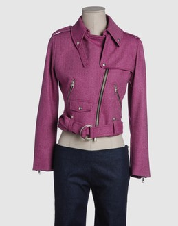 Jc de castelbajac Women - Coats & jackets - Jacket Jc de castelbajac on YOOX :  wool jacket pink coat