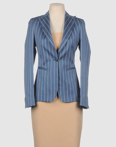 BRIAN DALES - Blue Pinstripe Blazer :  blazer brian dales jacket summer