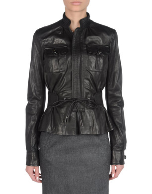 DSQUARED2 Leather outerwear D f