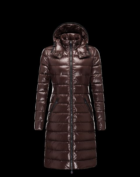 MONCLER Women - Fall-Winter 13/14 - OUTERWEAR - Coat - Moka