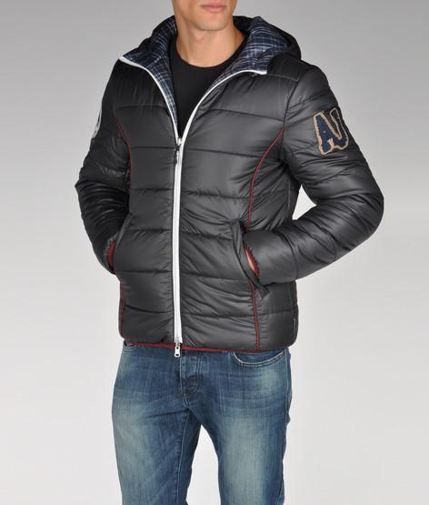 Armani Jeans Down Jacket | Southern Spaghetti Blog