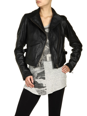 DIESEL - Leather jackets - L-SIENNA