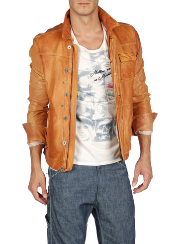 DIESEL - Leather jackets - LAURENCE