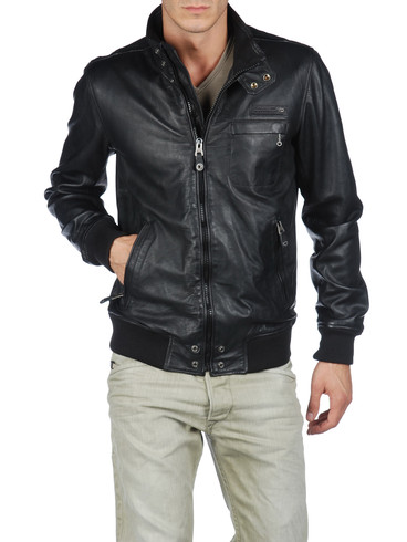 DIESEL - Leather jackets - LION 00RNE. Available Sizes: S - M - L - XL - XXL