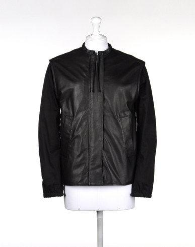MM6 by MAISON MARGIELA Veste en cuir