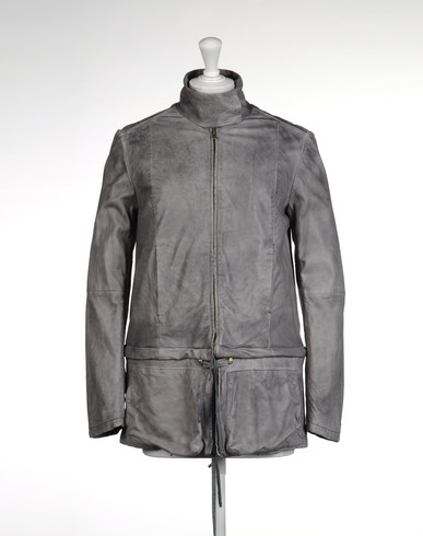 Leather outerwear