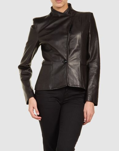 COSTUME NATIONAL - Leather outerwear