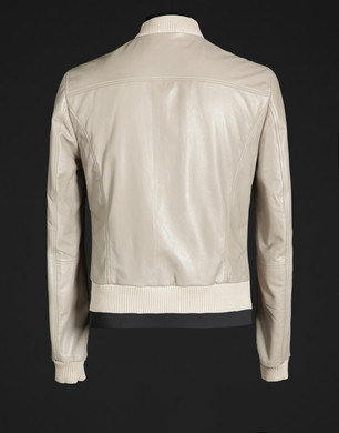 Leather Bomber jacket - Leather outerwear - Dolce&Gabbana - Summer 2016