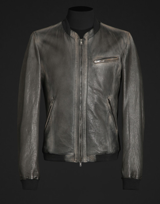 Leather Biker jacket - Leather outerwear - Dolce&Gabbana - Summer 2016