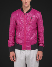 Classic nylon bomber jacket - Jackets - Dolce&Gabbana - Summer 2016