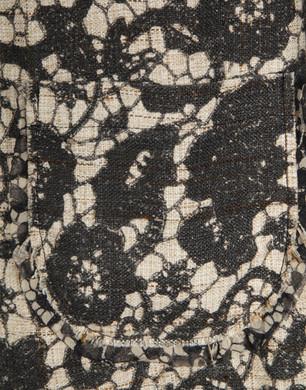 Lace print coat - Full-length jackets - Dolce&Gabbana - Summer 2016
