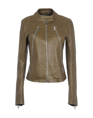 Leather outerwear Women's - MAISON MARTIN MARGIELA 4