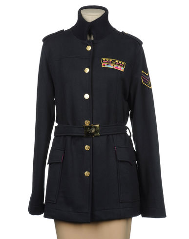 BLUMARINE UNDERWEAR - Mid-length jacket