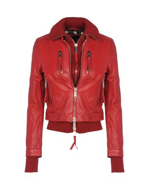 Leather outerwear Women's - DSQUARED2