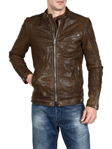 DIESEL - Leather jackets - LOSHEKA