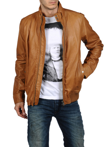 DIESEL - Leather jackets - LERMES